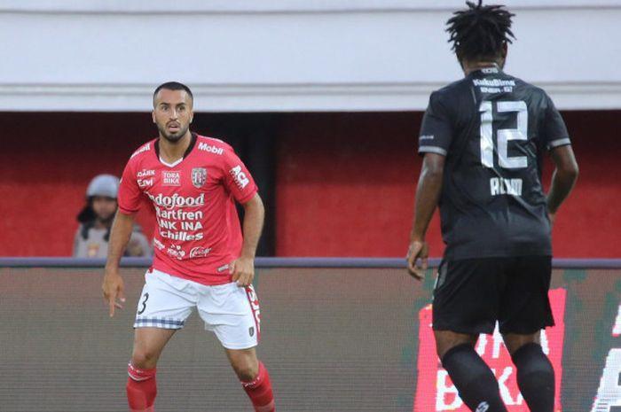 Pemain asal Irak, Brwa Nouri, memperkuat Bali United.