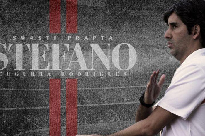 Stefano Cugurra alias Teco diresmikan sebagai pelatih Bali United, Senin (14/1/2019).