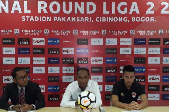 Pelatih Sriwijaya FC, Kas Hartadi.