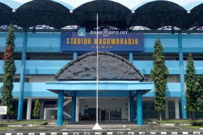 Stadion Maguwoharjo, Sleman, Rabu (10/1/2018).