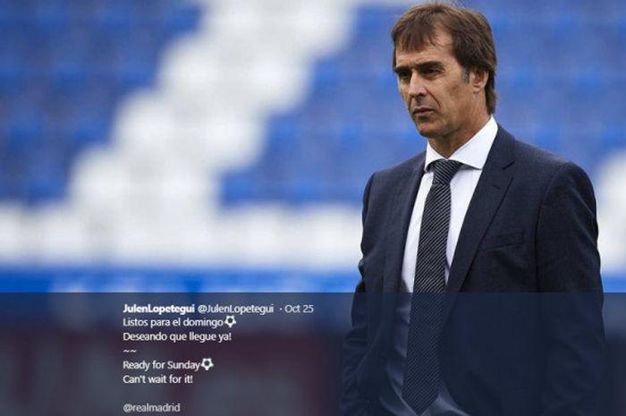 Eks Pelatih Real Madrid, Julen Lopetegui.