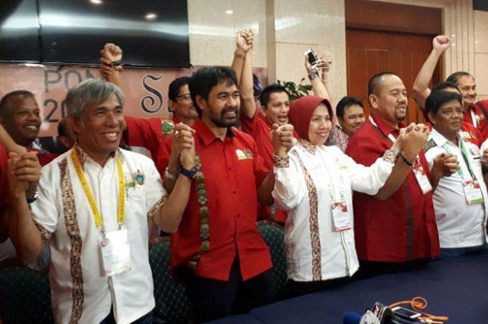 KONI meresmikan Provinsi Sumatra Utara dan Aceh sebagai tuan ruma Pekan Olahraga Nasional (PON) 2024
