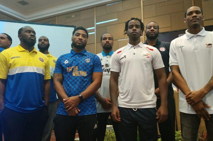 Sejumlah pemain asing yang akan tampil pada IBL Pertamax 2018-2019.