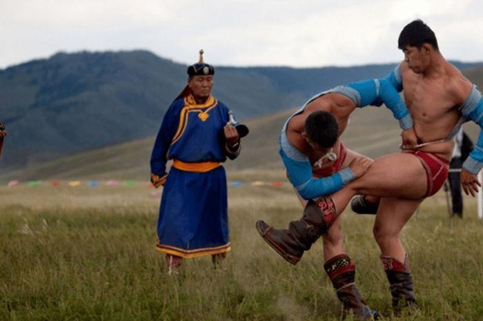 Gulat di Mongolia