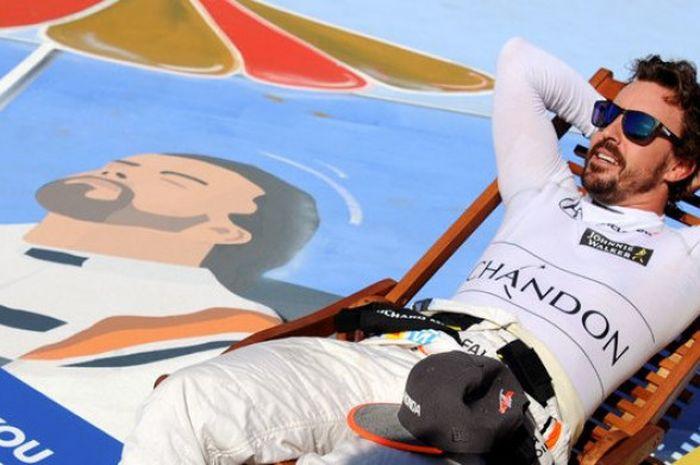 GP Abu Dhabi 2018, 23-25 November 2018, bakal menjadi balapan terakhir Fernando Alonso pada ajang F1