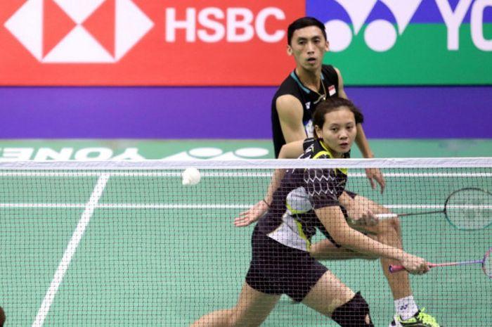 Pasangan ganda campuran Indonesia, Ronald Alexander/Annisa Saufika.