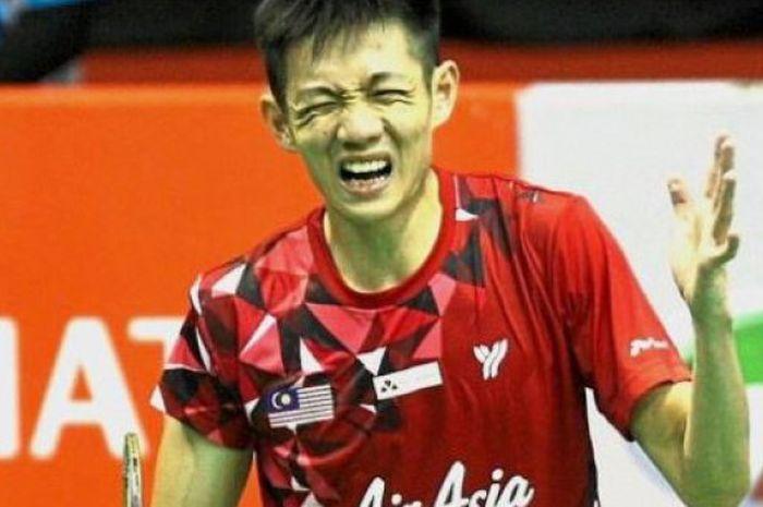 Pebulu tangkis tunggal putra Malaysia, Daren Liew, yang bertanding pada turnamen Malaysia Masters 20