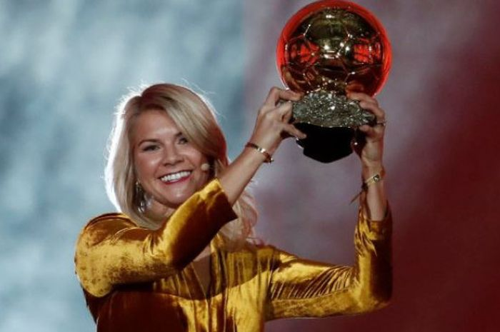 Pemenang wanita Ballon d'Or 2018, Ada Hegerberg
