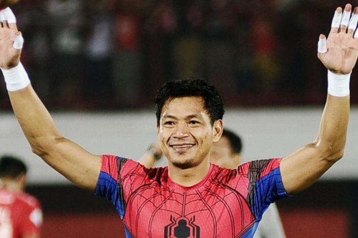 Kiper Bali United, Wawan Hendrawan.