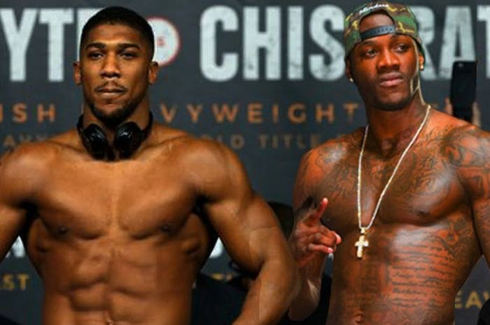 Anthony Joshua dan Deontay Wilder.
