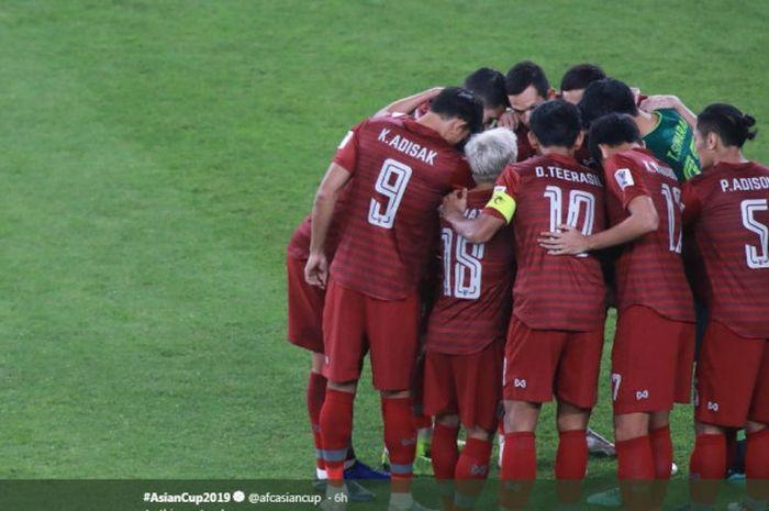 Timnas Thailand lolos ke babak 16 besar Piala Asia 2019.