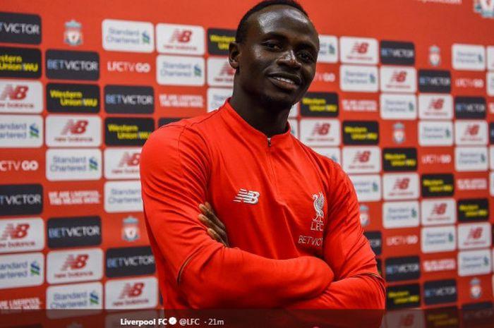 Sadio Mane memperpanjang kontraknya di Liverpool.