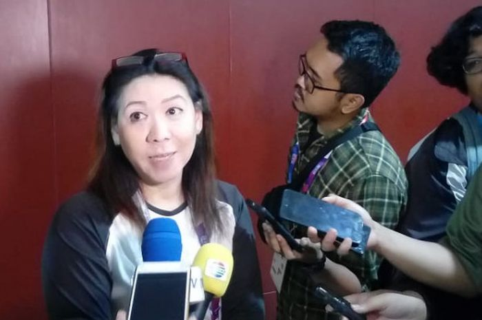 Kabid Binpres PP PBSI Susy Susanti.