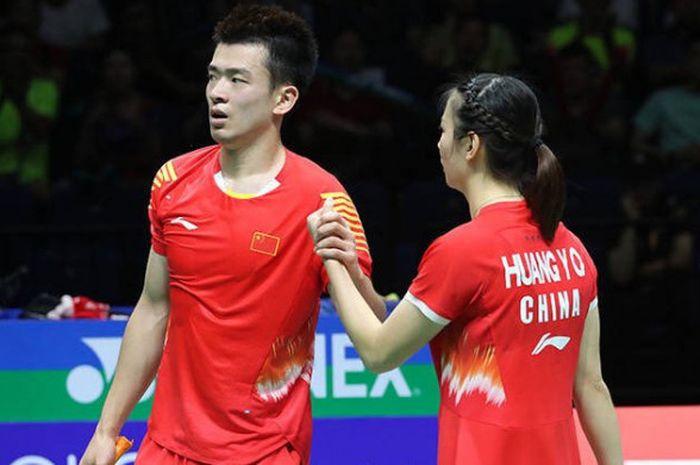 Zheng Siwei/Huang Yaqiong berhasil menjadi juara dunia sektor ganda campuran.