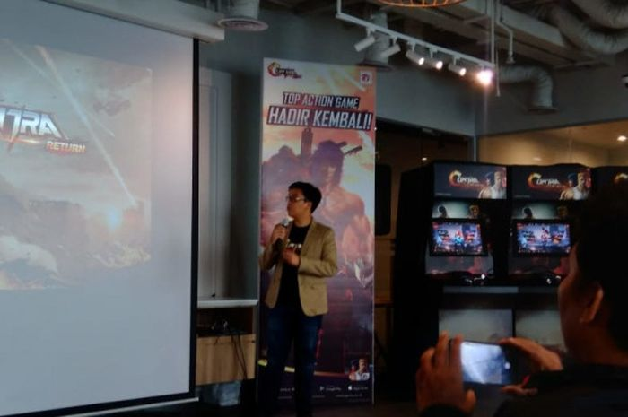 Launching Game Contra Return di Garena, Kamis, (13/9/2018).