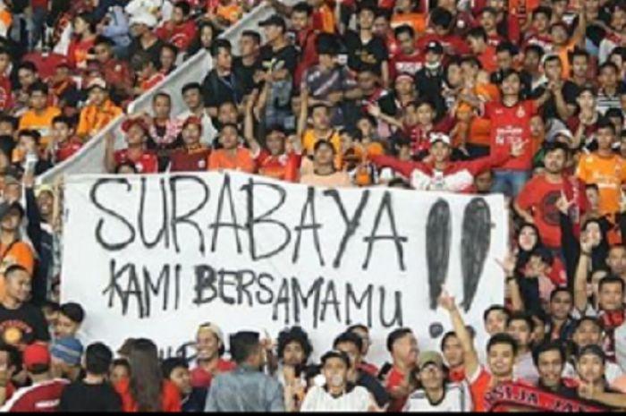 Laga Persija kontra Persebaya pada hari Minggu (3/6/2018) di Stadion Sultan Agung Bantul,  jadi ajang perdamaian Jakmania dan Bonek