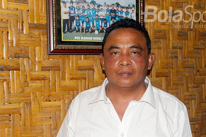 manajer PSS Sleman, Sismantoro.