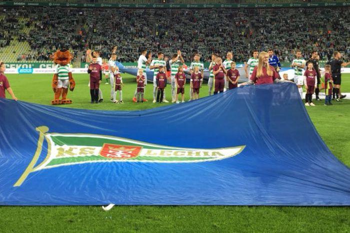 Potret jelang laga antara Lechia Gdansk kontra Korona Kielce SA dalam lanjutan Liga Ekstraklasa P