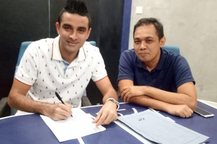 Otavio Dutra telah resmi memprpanjang kontrak bersama Persebaya Surabaya pada musim 2019.