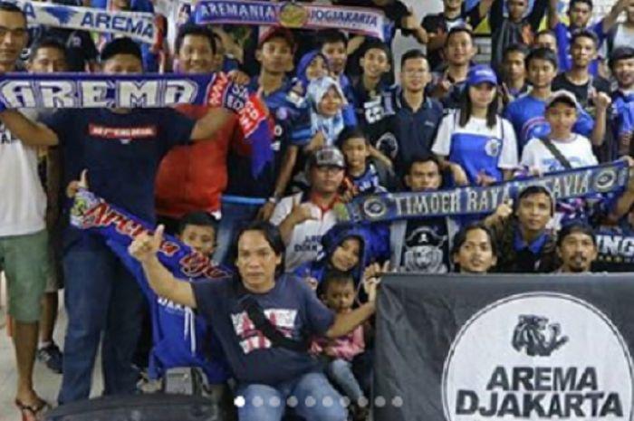 Wadah suporter Arema FC, Aremania Djakarta.