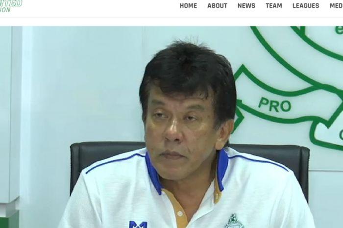 Mantan pelatih Melaka United, Elavarasan