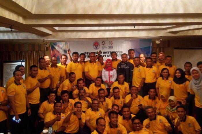 Kementerian Pemuda dan Olahraga gelar Pelatihan Instruktur Identifikasi Bakat Atlet Usia Muda, di Hotel Ambhara Blok M, Jakarta, 11-15 Desember 2017.