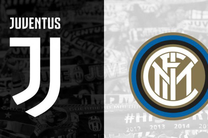 Ilustrasi Pertandingan Juventus vs Inter Milan