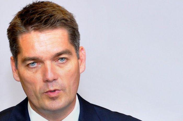 Presiden Federasi Bulu Tangkis Dunia (BWF), Poul-Erik Hoyer