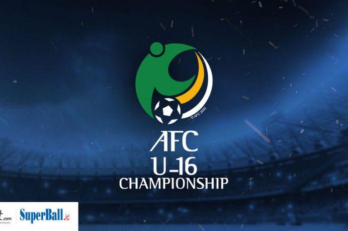 Logo Piala Asia U-16 2018.