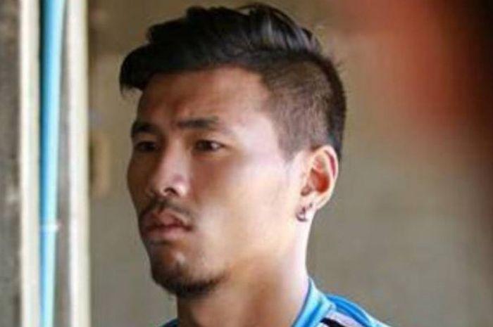 Gelandang Terengganu FC asal Kamboja, Thierry Chanta Bin.