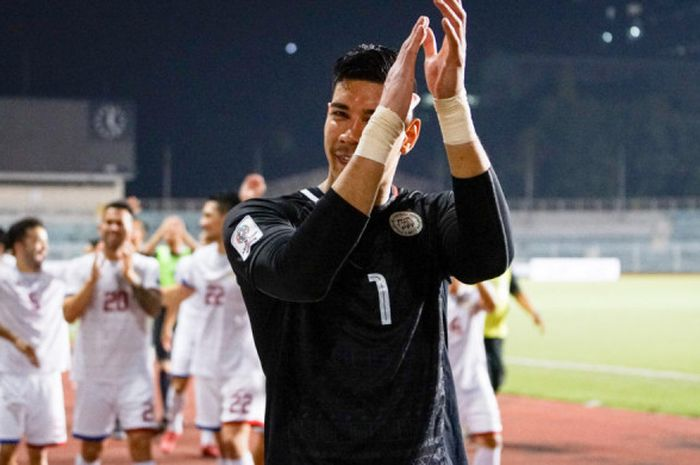 Kiper timnas Filipina Neil Etheridge.