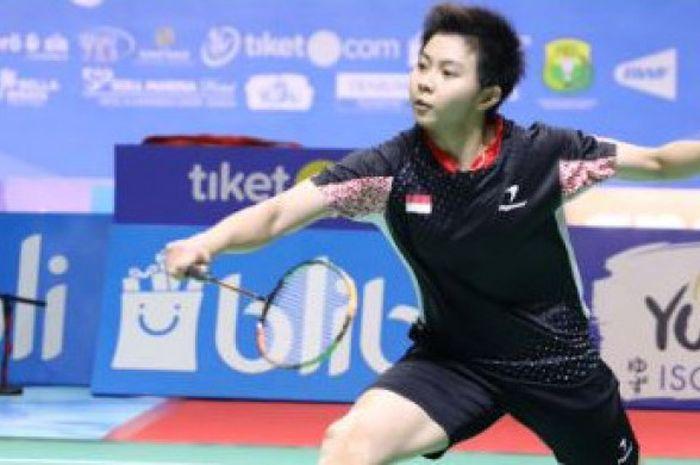 Pebulu tangkis tunggal putri Indonesia, Yulia Yosephin Susanto, sukses melaju ke babak kedua Thailand Masters 2019.