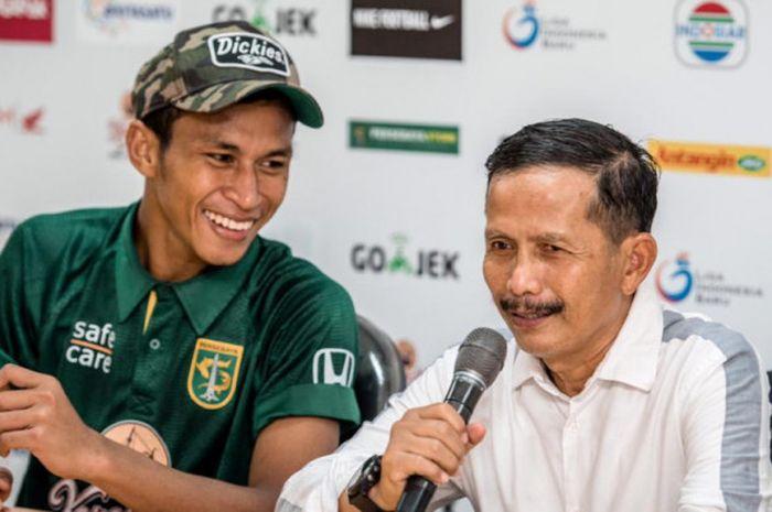 Pelatih Persebaya Surabaya, Djadjang Nurdjaman, menyebut bahwa manajemen sudah berusaha keras untuk mempertahankan Osvaldo Haay untuk mengarungi Liga 1 2019.