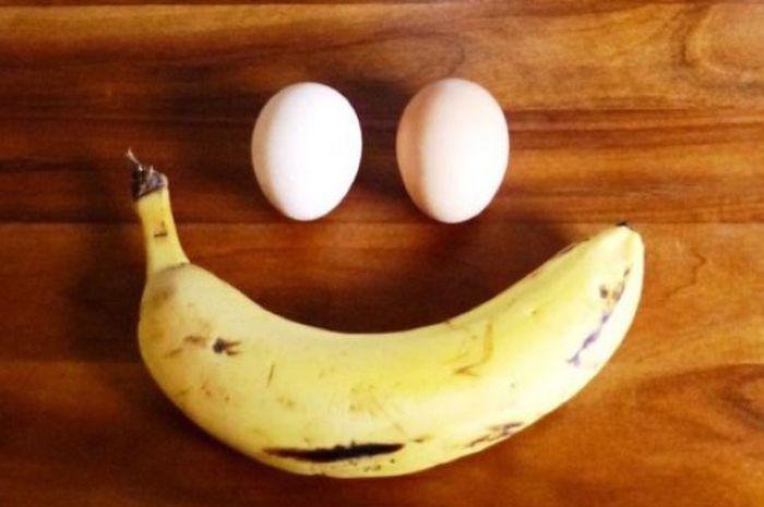 Pisang dan Telur