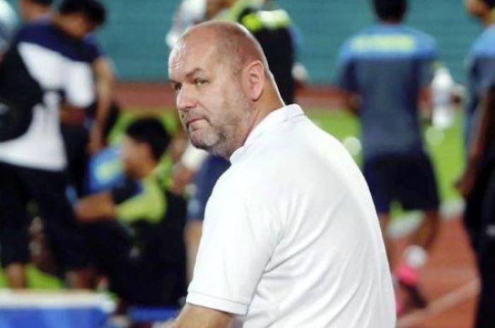 Pelatih Timnas U-19 Malaysia, Bojan Hodak.