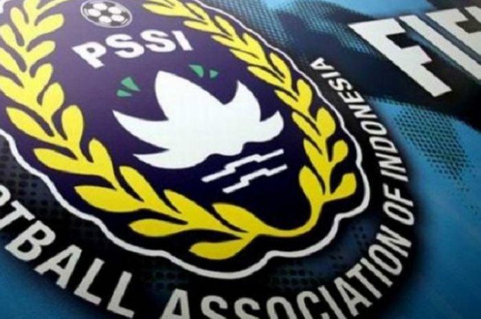 Logo PSSI dan FIFA