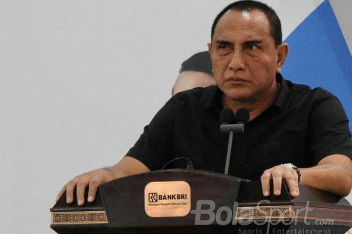 Ketua Umum PSSI, Edy Rahmayadi, meminta dirinya tak terus-terusan di-bully.