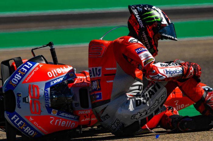 Jorge Lorenzo mengaku depresi sebelum hengkang dari tim Ducati.