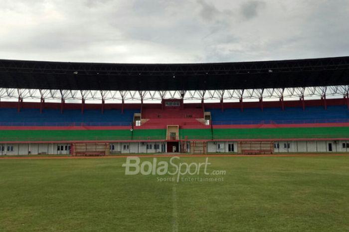 Stadion Sultan Agung Bantul pada pada Minggu (7/1/2018).