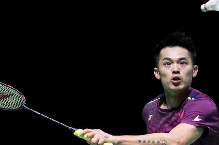 Pebulu tangkis tunggal putra China, Lin Dan.