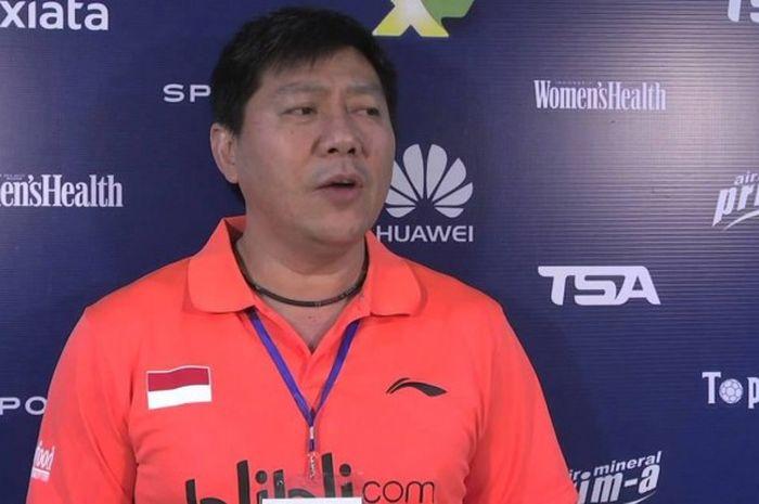 Pelatih ganda putra Indonesia, Aryono Miranat