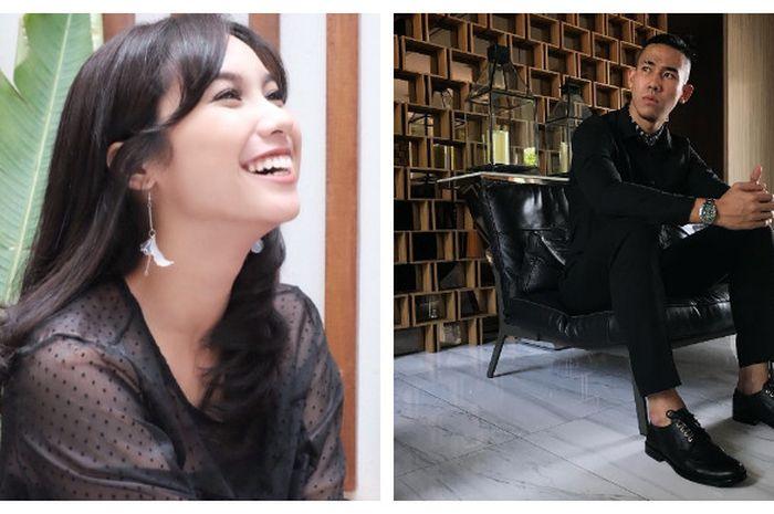 Kolase foto Sabrina Ayu (kiri) dan Ryuji Utomo