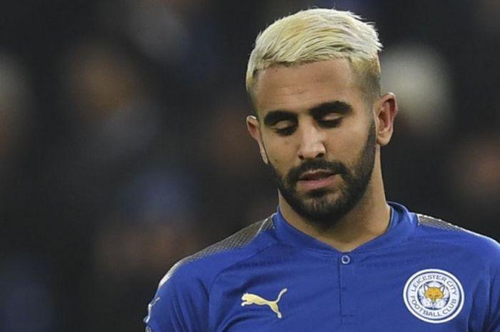 Gelandang Leicester City, Riyad Mahrez.