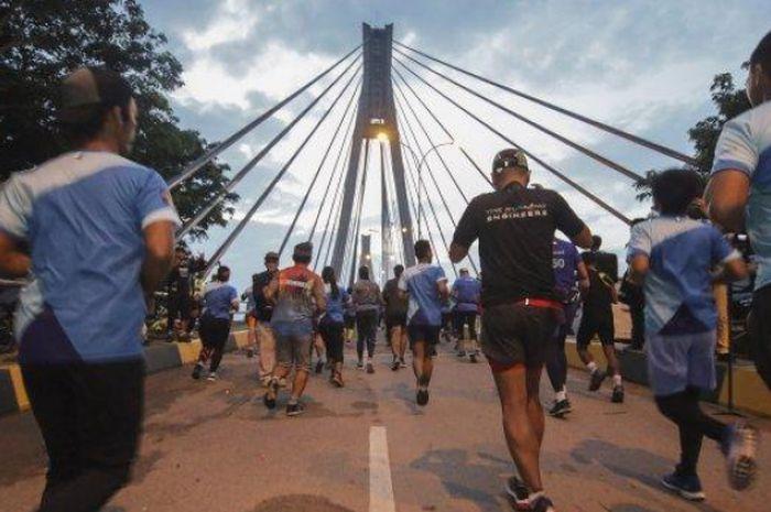 BP Batam-Barelang Marathon 2018 diikuti oleh  17 negara dari benua Asia, Afrika, Eropa, dan Amerika.