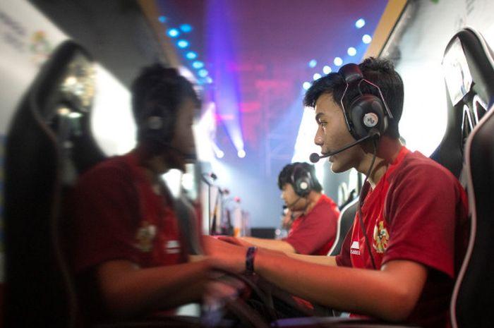 Tim Indonesia berlaga di turnamen eSports  yang menjadi cabang ekshibisi dari Asian Games 2018 di Jakarta.