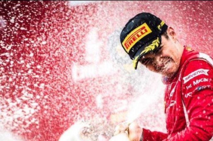 Pebalap Prema Racing Charles Leclerc