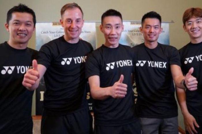 Lee Chong Wei Dan Lin Dan Perlihatkan Indahnya Persahabatan Meski