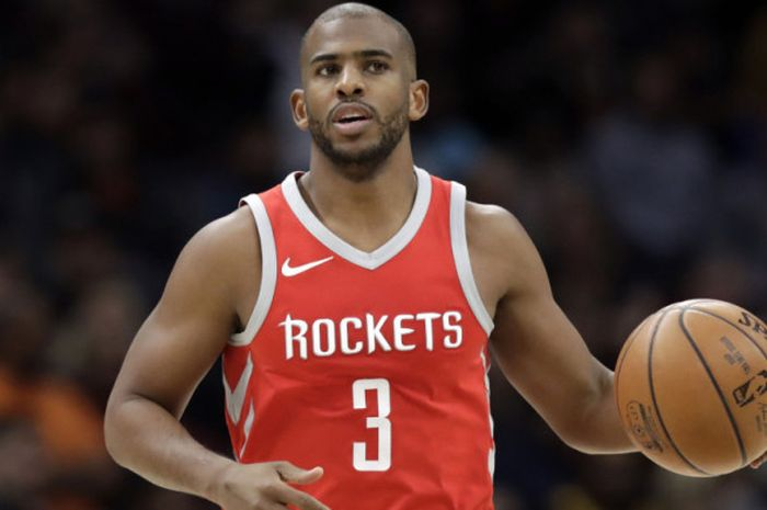Pebasket bintang Houston Rockets, Chris Paul.