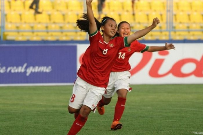 Timnas putri U-16 Indonesia