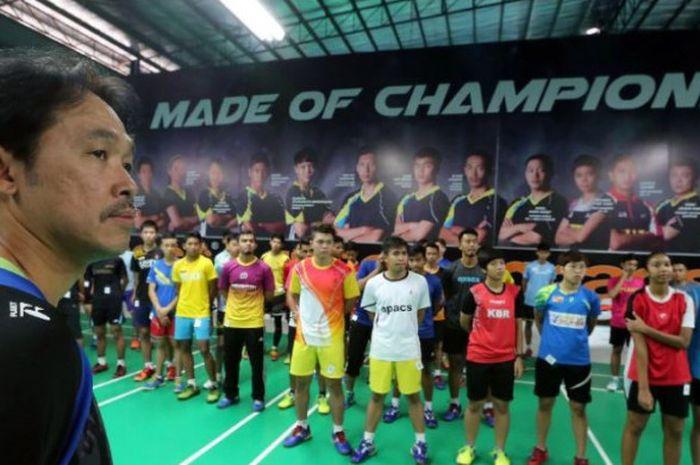 Mantan pelatih nasional Malaysia, Rashid Sidek.